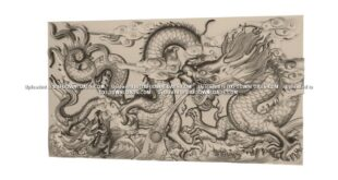 Free dragon to ArtCAM RLF and STL Files 1682