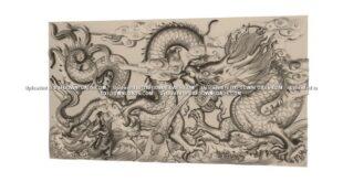Free dragon to ArtCAM RLF and STL Files 1682