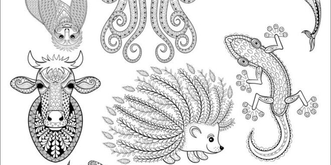 Cdr Vectors Pattern Animals 04