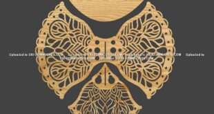 Cnc wooden Carved bird model free