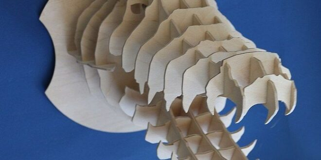 Cnc 3d puzzle Free Crocodile head