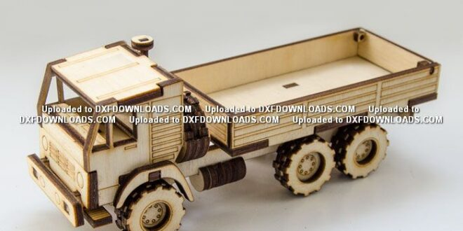 Tipper truck free cnc model