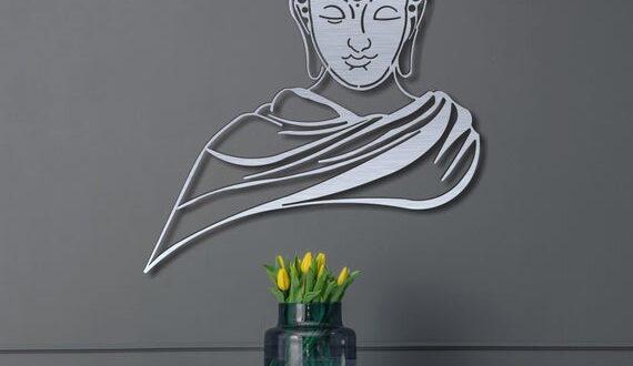 Buddha Metal Wall Art DXF