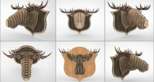 Elk Head Wall Decor Design Download