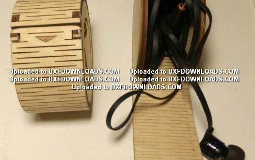 Headphone Organizer laser cut free file