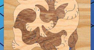 Puzzle birds children's toy kids