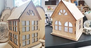 Small houses simple 4mm free plan to cut CNC