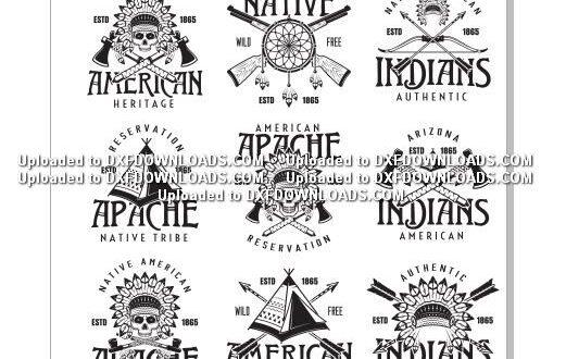 american indians cdr logos free