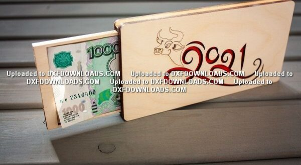 Money box to cnc laser cut