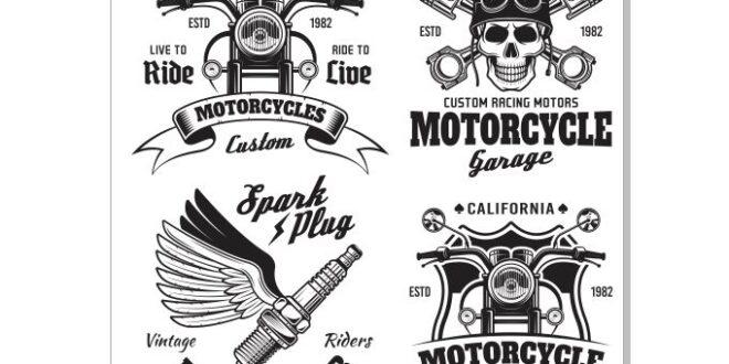 Motorcycle Club CDR File Vector
