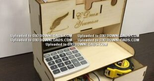 Bench organizer free design to cnc cut