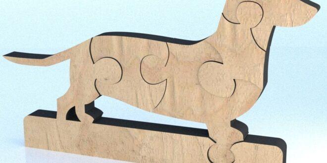 Basset Hound Dog puzzle