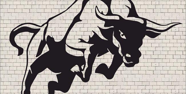 Wall Decor Bull 011