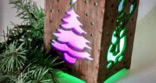 Flashlights Box Christmas Lamp