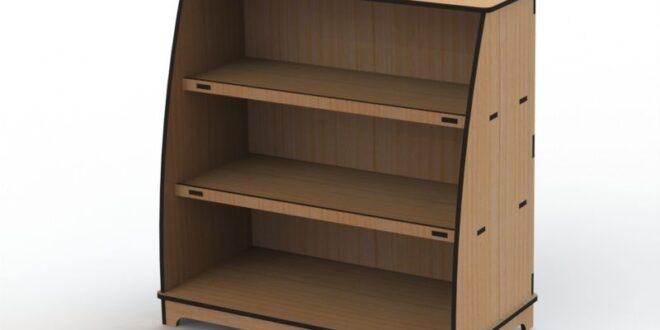 MDF Cut Furniture Plan Cnc Rack Shelf 9mm + 6mm