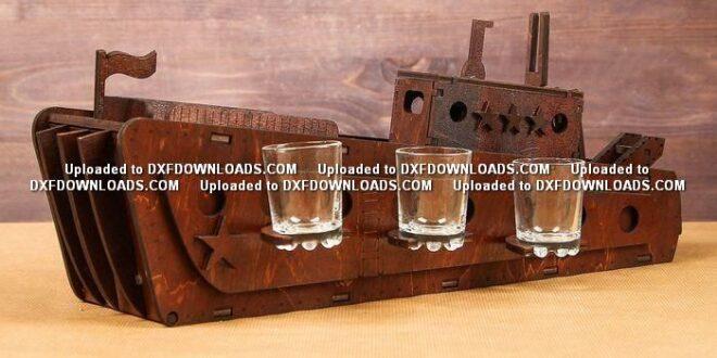 Free Ship Bar layout to cut wood cnc