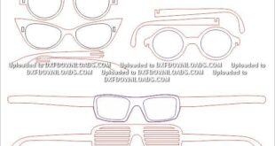 pack laser cutting glasses