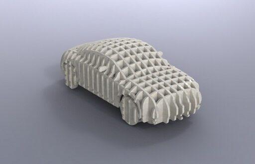 Audi TT Car Parametric DXF CDR EPS