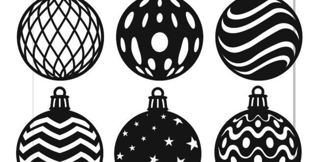 Balls for christmas decoration vectors