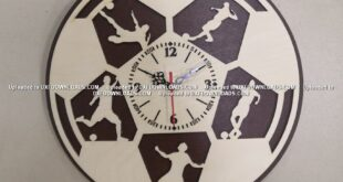 football wall clock free artcam vcarve vectric aspire deskproto