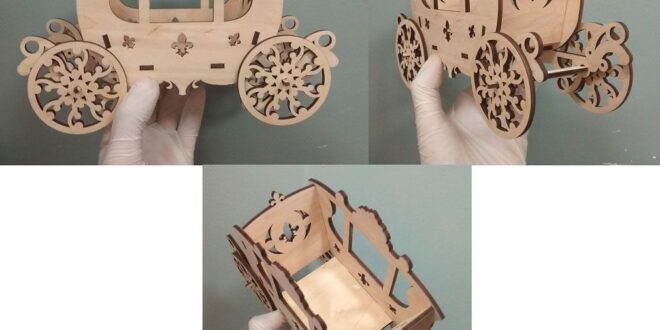 Miniature carriage for laser cut