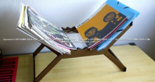 Free cnc magazine rack project