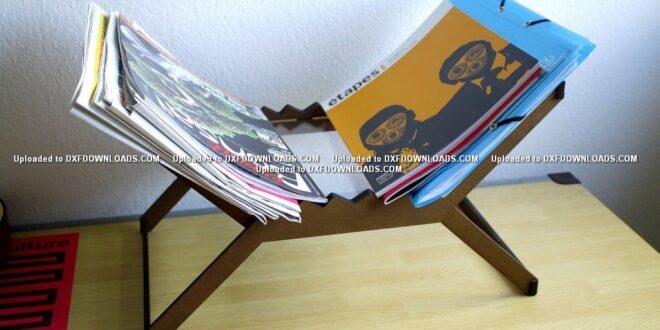 Free cnc magazine rack project