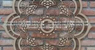 Free download mandala file to cut wood