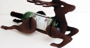 mini bar deer for bottle CDR DXF File