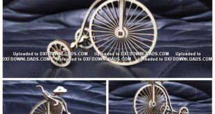 Decorative and easy to assemble bicycle