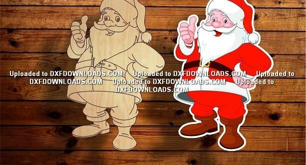 Free CDR Santa Claus Vector
