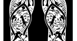 Slipper silhouette