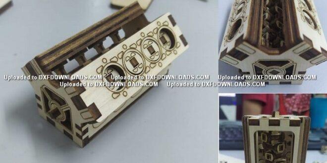 Miniature v8 engine free design to cut cnc