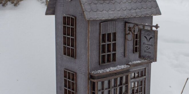 Laser Cut Harry Potter House CDR Layout