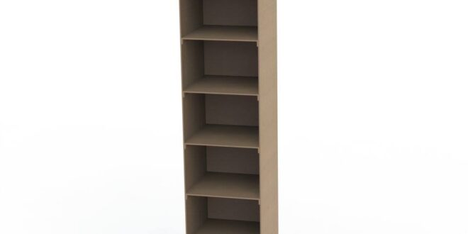 6mm mdf bookcase cabinet
