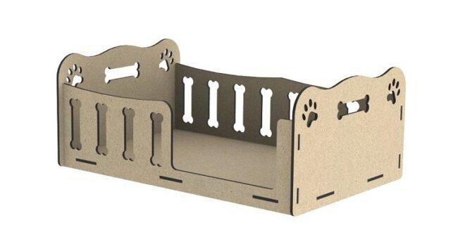 Laser cut 6mm plywood dog house