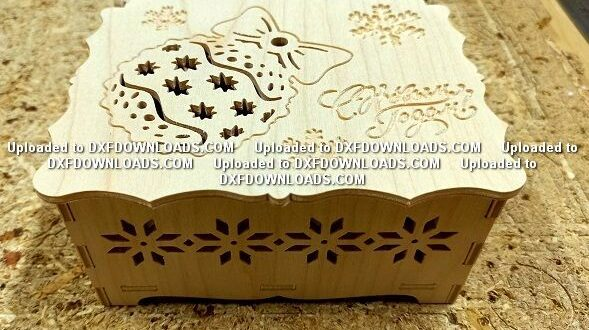 Cnc Router Christmas toy box
