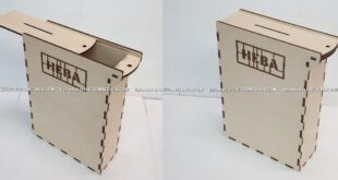 Donate box free plan to laser and cnc router