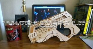 Magnus M-6 Carnifex weapon CNC free CDR