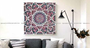 Free Multilayer flower Wall Mandala