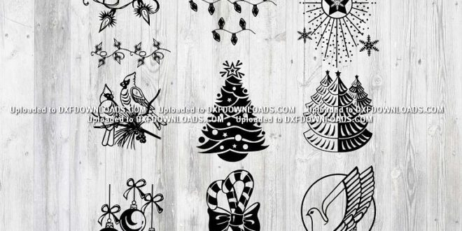Free download SVG christmas patterns 3