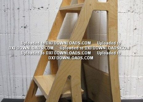 Free cnc router design Stair Chair