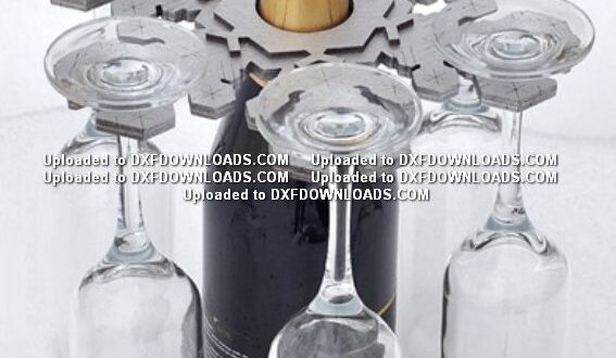 Bar bottle cups free design DXF CDR CNC File