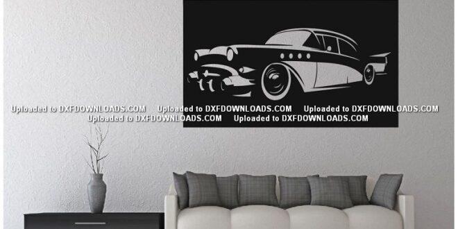 Free sticker car wall decor panel