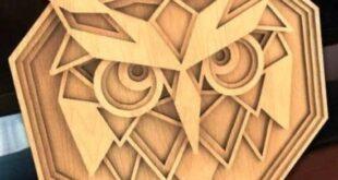 Multi layered owl CDR File