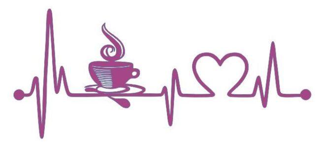Pulse rhythm heart vector dxf svg