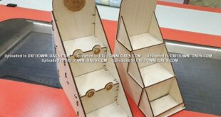 A pair of display shelves FREE 4 mm plywood