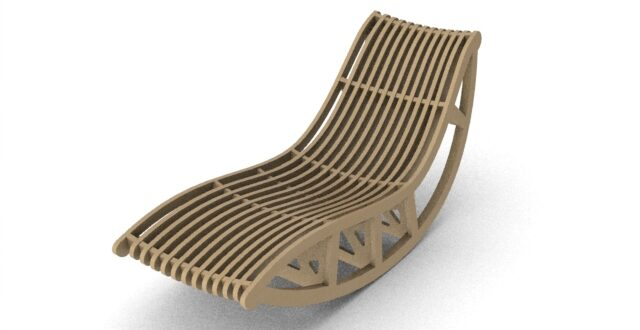 Rest chair for make on cnc