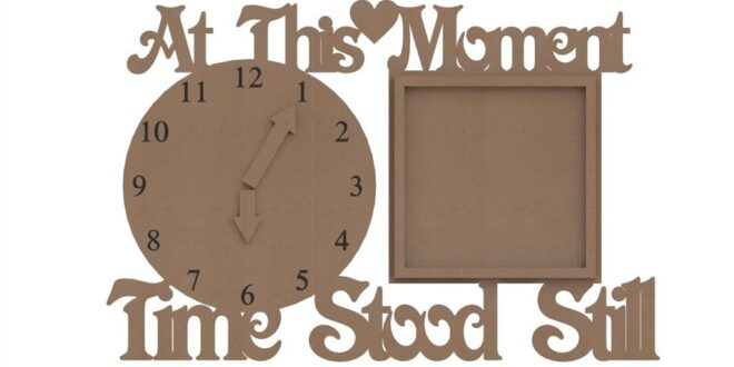 wooden clock plan At this moment Time Stood Still
