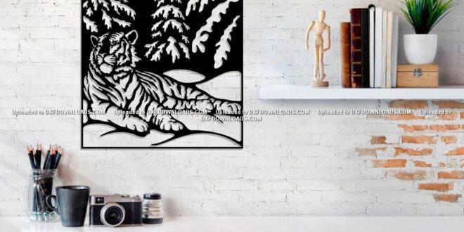 Free tiger panel